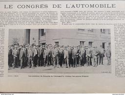 1900 LE CONGRÈS DE L'AUTOMOBILE AU USINES CLÉMENT - Livres, BD, Revues
