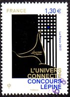 Oblitération Cachet à Date Sur Timbre De France N° 5141 - L'univers Connecté, Concours Lépine - Francia
