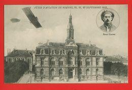 42-040 - LOIRE - ROANNE - Fêtes D'Aviation 21.22.23 Sept 1912 - Raoul GARROS - Roanne