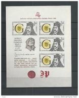 1988 MNH  Ceskoslovensko, Block 90 - Blocks & Sheetlets