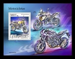 Mozambique 2019 Mih. 10352 (Bl.1510) Motorcycles MNH ** - Mosambik