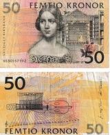 Suède  50 Kronor - Sweden