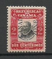 PANAMA Canal Zone 1906 Michel 18 II * - Panama