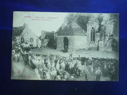 1907 GOURIN 6 MARS 1906 LES CHASSEURS DE PONTIVY   BON ETAT - Gourin