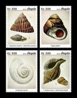 Angola 2019 Mih. 2171/74 Marine Fauna. Seashells MNH ** - Angola