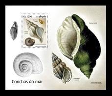 Angola 2019 Mih. 2175 (Bl.200) Marine Fauna. Seashells MNH ** - Angola