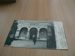 CARTE POSTALE ITALIE/ NAPOLI MUSEO INDUSTRIALE/      VOYAGEE 4 - Italy