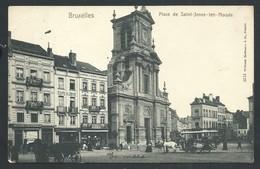 +++ CPA - BRUSSEL - BRUXELLES - Place De SAINT JOSSE TEN NOODE   // - St-Josse-ten-Noode - St-Joost-ten-Node