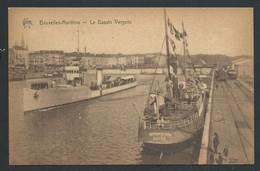 +++ CPA - BRUSSEL - BRUXELLES - Maritime - Le Bassin Vergote - Bateau     // - Maritiem