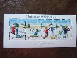 1990  Christmas   ** MNH - Man (Ile De)