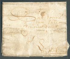 LAC Du 7 Novembre 1669 Vers Chapelle-lez-Herlaimont   Rare Et Intéressant - 14221 - 1621-1713 (Spanische Niederlande)