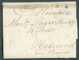 LAC D'AMSTERDAM Le 26 Août 1785 Vers Hodimont (Verviers)t - 14221 - 1714-1794 (Austrian Netherlands)