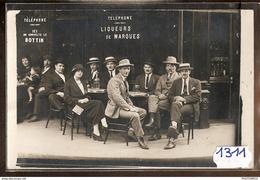 1311 CARTE PHOTO CAFE A IDENTIFIER TTB - Cartoline