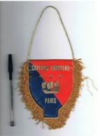 Fanion ( Petit Modèle) 8e Compagnie Des Sapeurs Pompiers De Paris (fr80) - Pompiers