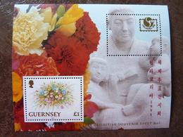 1994  PhilaKorea  Flowers ** MNH - Guernesey
