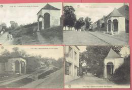 J - Huy - Hoei - 4 CP - 2 Et 3eme - 4eme - 5eme - 6eme Chapelles Du Chemin De La Sarthe  - Déstockage A Petit Prix - Hoei