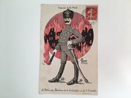 AK Hussard De La Mort Huzaar Hussar Husar Totenkopf Pierre - War 1914-18