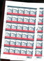 Belgie 2002 3131 Albert II Monarchie Full Sheet MNH Plaatnummer 1&2 Opeenvolgende Velnummers !! - Feuilles Complètes