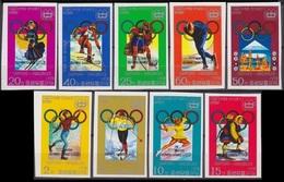 1979Korea NorthA1683-1689+90-91b1980 Olympic Games In Lake Placid 40,00 € - Winter 1980: Lake Placid