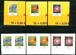 A13-35-5) BRD - Mi 34xx / 34xx Paar Gestanzt Aus FB 88 / 90 - ** Postfrisch (F) - 60-80-95C   Blumen, Ausgabe 01.07.2019 - Ungebraucht