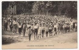 CPA - BUOUX (Vaucluse) - Colonie Scolaire De Buoux (enfants De La Ville De Marseille) 1927 - Autres Communes
