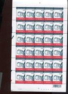 Belgie 2002 3131 Albert II Monarchie Full Sheet MNH Plaatnummer 1 Velnr 22017 - Full Sheets