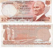Turquie 20 Lira - Turkey