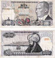 Turquie 1000 Lira - Turkey