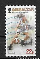 GIBRALTAR 2019 ISLAND GAMES BASKETBALL LOCAL RATE - Gibraltar