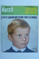 Paris Match N° 975 Du 16 Dec 1967 - Crime : Rapt Et Assassinat D'Emmanuel Maillart - Le Pr. Barnard - General Issues