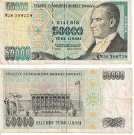 Turquie 50.000 Lira - Turkey