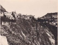 TAORMINA TAORMINE Sicile 1926  Photo Amateur Format Environ 5,5 Cm X 7,5 Cm - Lieux