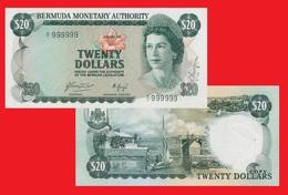 Bermuda 20 Dollars 1976 - Bermudas