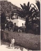 TAORMINA TAORMINE Sicile 1926  Badia Vecchia Photo Amateur Format Environ 5,5 Cm X 7,5 Cm - Lieux