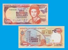 Bermuda 100 Dollars 1996 - Bermudes