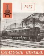 Catalogue FRANCE TRAINS 1972 Cinquième Année - échelle HO 1/87 - Français