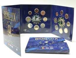 M/MS49 EUROSET BENELUX 2007 : 24 Pièces + 1 Médaille (Valeur D'émission: 60 Euro) - Belgique