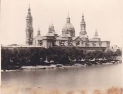 SARAGOSSE ZARAGOZA 1935  Photo Amateur Format Environ 5,5 Cm X 7,5 Cm - Lieux