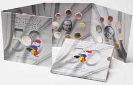 M/MS52 EUROSET BENELUX 2008 : 24 Pièces + 1 Médaille (Valeur D'émission: 60 Euro) - Belgique