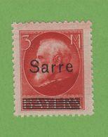 Faux Sarre N° 29 3 M Gomme Charnière - Nuovi