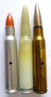 CARTOUCHES 7,5x54 NEUTRALISEES - Militaria