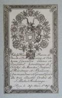 Vignette Héraldique XVIIIème - Adolphe Henri Baron De Droste Von Vischering (Münster) - Ex-libris