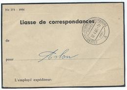 Service Ambulant Ettelbruck - Pétange - Luxembourg A 12-04-1960 Sur Liasse De Correspondance Pour Arlon - Poststempel - Freistempel