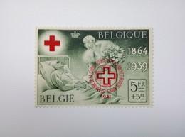 Belgium Red Cross 1864-1939 Sc#B240 1941 Red Cross Overprint MNH - Bélgica
