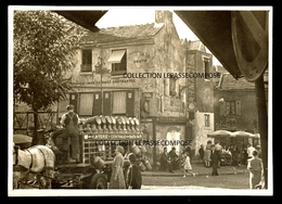 INEDIT PARIS - PLACE DU TERTRE LIVRAISON LAITERIE CENTRALE DE BARBES - ATTELAGE MAIRIE COMMUNE LIBRE DE MONTMARTRE - France