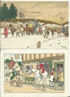 CARTE FANTAISIE - Illustration ELLIOT - Lot De 2 C.P.A. - Elliot