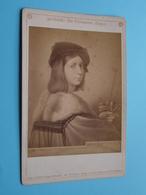RAPHAEL : Der Violinspieler (Rom.) ( Photo CABINET 161 > F & O Brockmann's Dresden / See Photo ) ! - Beroemde Personen