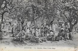 Algérie)   NEMOURS  - Le Marché Place Victor Hugo - Algérie