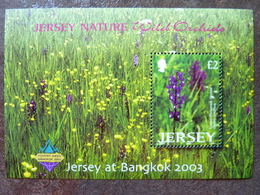 2003   Wild Orchids  Bangkok  Flowers ** MNH - Jersey