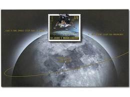 Z07 Germany BRD 2019 Mi 50 Jahre Erste Mondlandung Moon Landing MNH Souvenir Sheet - [7] Repubblica Federale